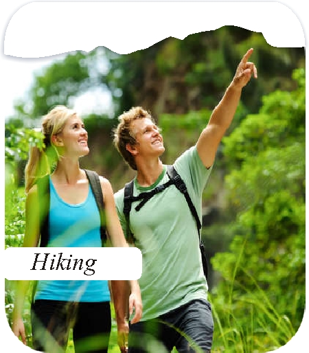 Hiking activities